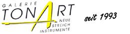 Galerie TonArt Stuttgart – Streichinstrumente, Geigen, Bratschen, Celli, Bögen Logo